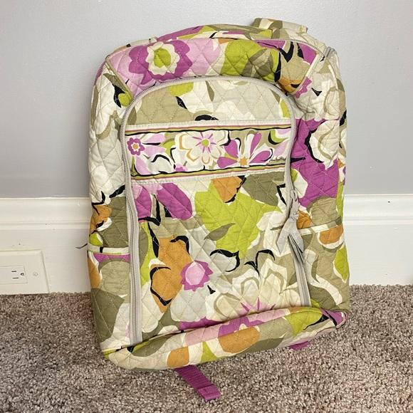 Vera Bradley Laptop Backpack in Portobello Road